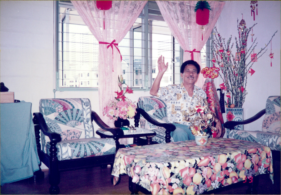 "A view from inside an apartment on the top floor of a ""chek lau"" flat in Redhill. You can see the old Housing Development Board Headquarters Building which used to be located at Bukit Merah Central from outside the window. Photo: Cher Su Hoon"