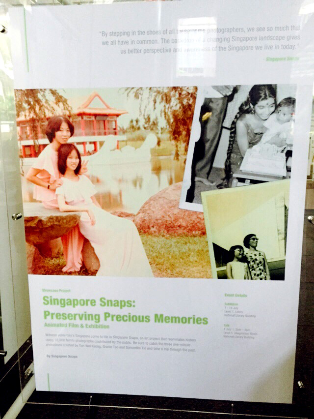 Poster introduction of Singapore Snaps