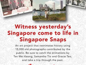 Singapore Snaps: Artist Talk at NLB on 4 July, 2pm