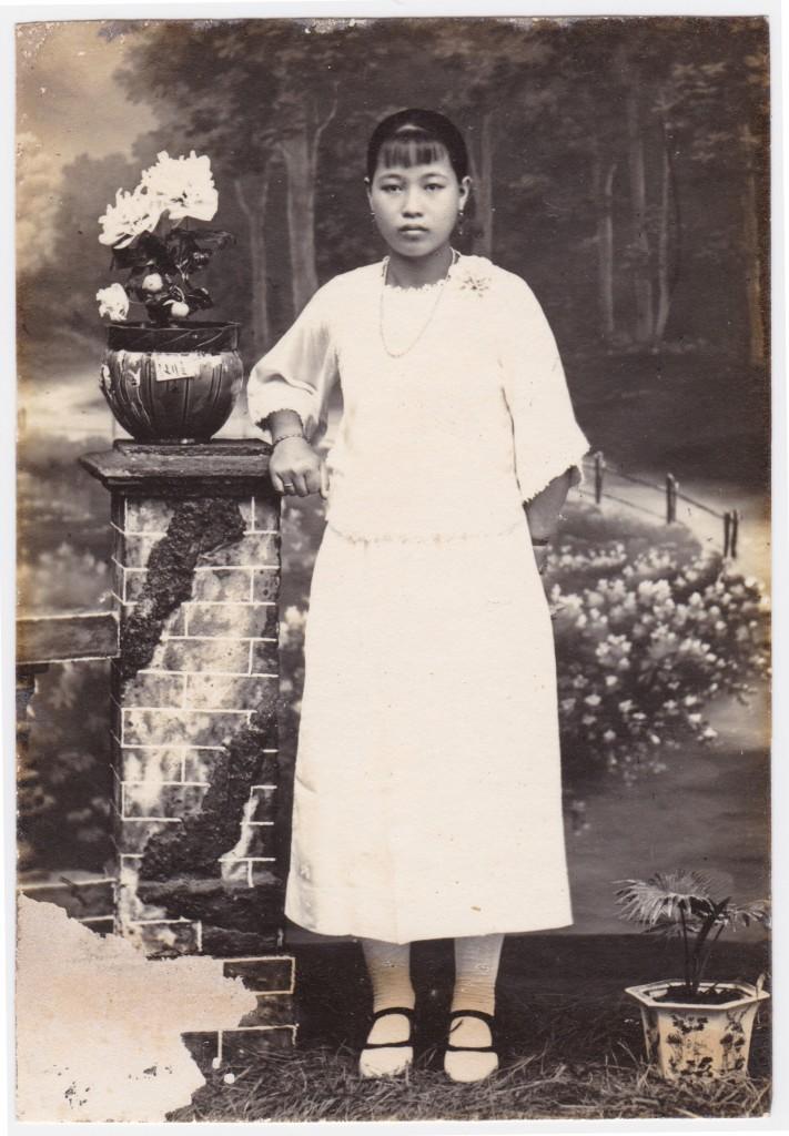 Portrait of Madam Yap Swee Eng.