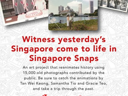 Singapore Snaps: Artist Talk at NLB on 4 July, 2pm